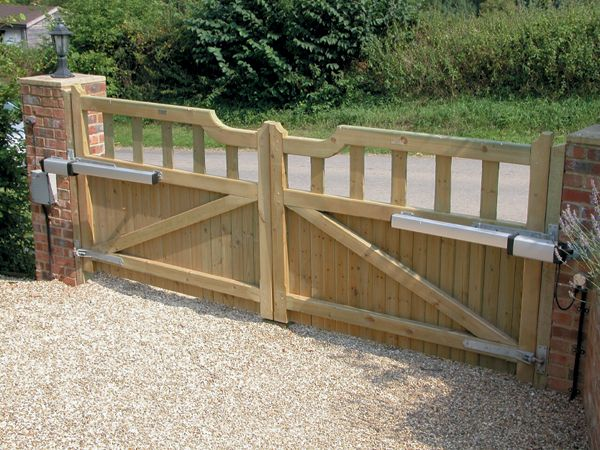 automated timber gates